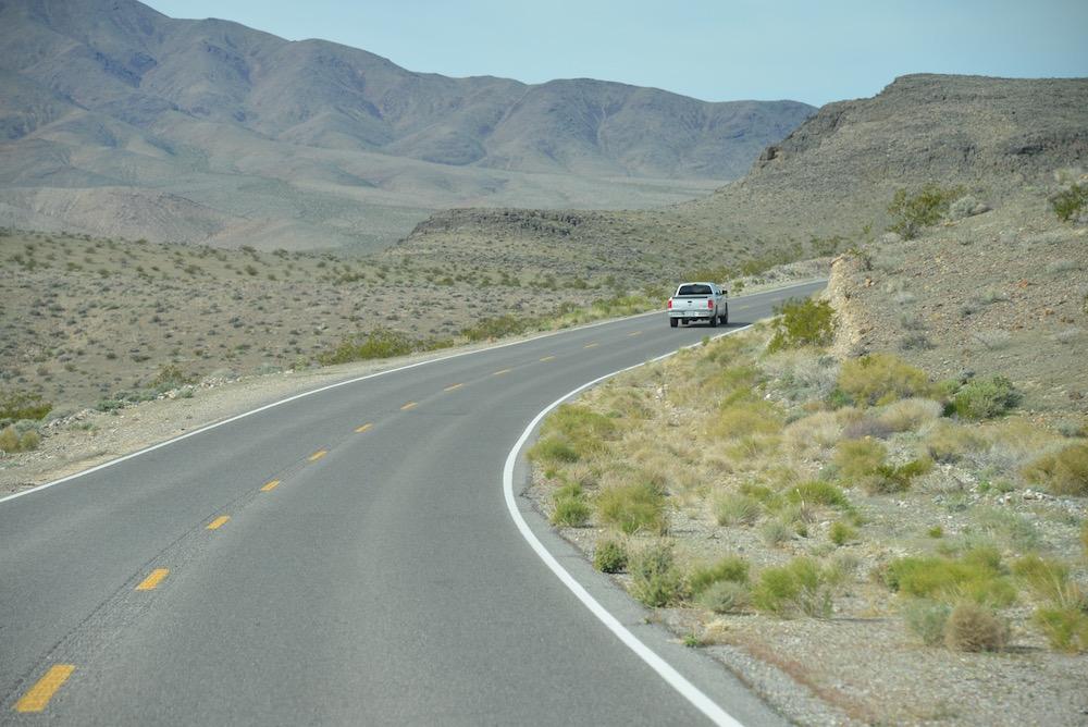 Exkursion ins Death Valley vor den Toren Las Vegas